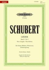 Lieder Vol. 1 Voix Haute - Fischer-Dieskau SCHUBERT laflutedepan.com