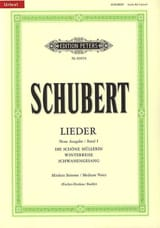SCHUBERT - Lieder Vol. 1 Mean Voice - Fischer-Dieskau - Sheet Music - di-arezzo.co.uk