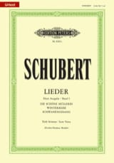 SCHUBERT - Lieder Vol. 1 Serious Voice - Fischer-Dieskau - Sheet Music - di-arezzo.com