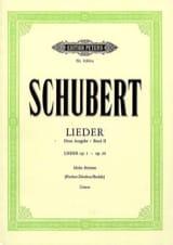 Lieder Volume 2 Voix Haute - Fischer-Dieskau SCHUBERT laflutedepan.com