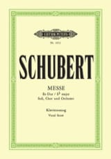 Messe En Mi bémol majeur D 950 SCHUBERT Partition laflutedepan.com