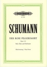 SCHUMANN - Der Rose Pilgerfahrt - Pilgrimage of the Rose - Opus 112 - Sheet Music - di-arezzo.co.uk