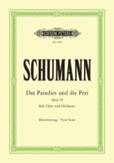 SCHUMANN - Das Paradies Und Peri Opus 50 - Sheet Music - di-arezzo.co.uk