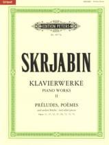 Klavierwerke Volume 2 Alexander Scriabine Partition laflutedepan.com