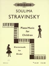 soulima Stravinski - Piano Music For Children Vol 1 - Partition - di-arezzo.fr
