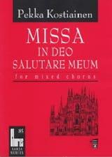 Missa In Deo Salutare Meum Pekka Kostiainen Partition laflutedepan.com
