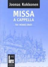 Missa A Cappella Joonas Kokkonen Partition Chœur - laflutedepan