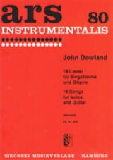John Dowland - 18 Lieder - Sheet Music - di-arezzo.co.uk