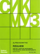 Alfred Schnittke - Requiem. Conducteur - Partition - di-arezzo.fr