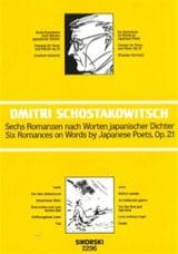 6 Romanzen Nach Worten Japanischer Dichter Opus 21 laflutedepan.com