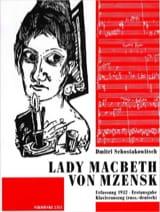 Lady Macbeth Von Mzensk - Dimitri Chostakovitch - laflutedepan.com
