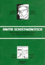 Dimitri Chostakovitch - 2 Fables de Krylov Op. 4 - Partition - di-arezzo.fr