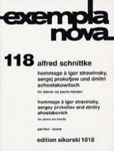 Hommage A Stravinsky, Prokofiev et Chostakovitch. 6 Mains laflutedepan.com