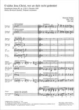 Heinrich Schütz - O Süsser Jesu Christ, Wer An Dich Recht Gedenket Op. 12-8 - Partition - di-arezzo.fr