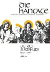 Alleluja BuxWV 43. Dietrich Buxtehude Partition laflutedepan.com
