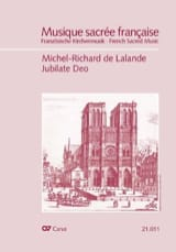 Jubilate Deo. Psaume 99 Michel-Richard de Lalande laflutedepan.com