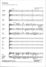 HAENDEL - Halleluja - Sheet Music - di-arezzo.co.uk
