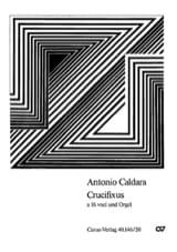 Crucifixus a 16 voci Antonio Caldara Partition laflutedepan.com