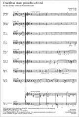Crucifixus a 8 voci Antonio Lotti Partition Chœur - laflutedepan