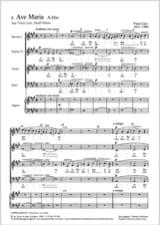 2 Ave Maria - Franz Liszt - Partition - Chœur - laflutedepan.com
