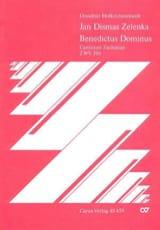 Jan Dismas Zelenka - Benedictus Dominus Zwv 206 - Partition - di-arezzo.fr