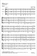 Missa En la Mineur Antonio Lotti Partition Chœur - laflutedepan