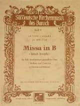 Missa Dolorosa (Choeur Seul) Antonio Caldara laflutedepan.com