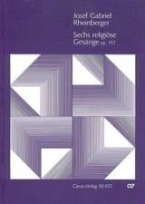 6 Religiöse Gesänge Opus 157 laflutedepan.com