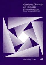 Geistliches Chorbuch der Romantik Partition Chœur - laflutedepan.com