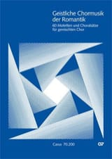Geistliche Chormusik der Romantik Partition Chœur - laflutedepan.com