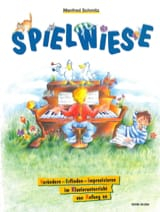 Spielwiese Manfred Schmitz Partition Piano - laflutedepan