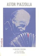 Astor Piazzolla - 4 Canciones Porteñas - Partition - di-arezzo.fr