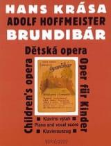 Brundibár (1938/43) Hans Krasa Partition laflutedepan.com