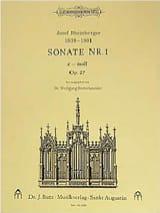 Sonate N° 1 Op. 27 Josef Gabriel Rheinberger laflutedepan.com