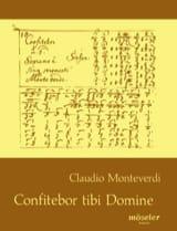 Claudio Monteverdi - Confitebor tibi Domine SV 296 - Partition - di-arezzo.fr