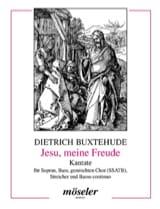 Dietrich Buxtehude - Jesu, Meine Freude. Conducteur - Partition - di-arezzo.fr