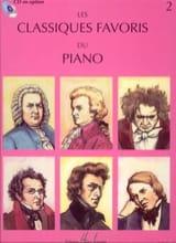 Classiques Favoris Vol 2 Cart. Partition Piano - laflutedepan.com