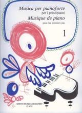 Pour les Premiers Pas Volume 1 Partition Piano - laflutedepan.com