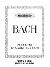 Petit Livre d'Anna Magdalena BACH Partition Piano - laflutedepan.com