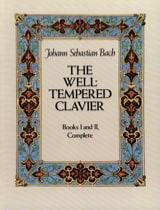 Le Clavier Bien Tempéré. Livres 1 & 2 Complet BACH laflutedepan.com