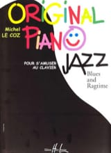 Original Piano Jazz Michel LE COZ Partition Piano - laflutedepan
