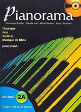 Pianorama 2A Partition Piano - laflutedepan.com