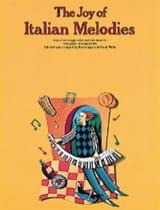Joy Of Italian Melodies Partition Piano - laflutedepan.com