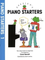 Carol Barratt - Piano Starters Volume 1 - Partition - di-arezzo.fr