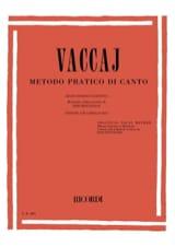 Nicola Vaccai - Metodo Pratico. Mean Voice - Sheet Music - di-arezzo.com