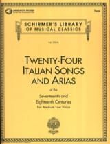 - 24 Italian Songs And Arias Serious Voice - Sheet Music - di-arezzo.co.uk