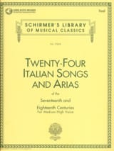 - 24 Italian Songs And Arias High Voice - Sheet Music - di-arezzo.com