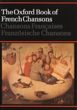 The Oxford Book of French Chansons Partition laflutedepan.com