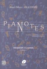 Jean-Marc Allerme - Pianotes Modern Classic Volume 1 - Partitura - di-arezzo.es
