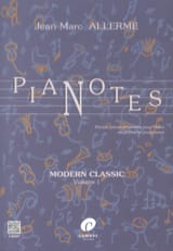 Jean-Marc Allerme - Pianotes Modern Classic Volume 1 - Sheet Music - di-arezzo.com